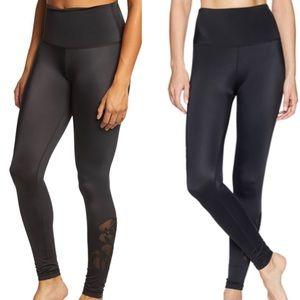 Brand New Beyond yoga black take leaf legging
